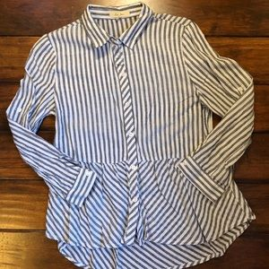 Love Note long Sleeve Striped Shirt